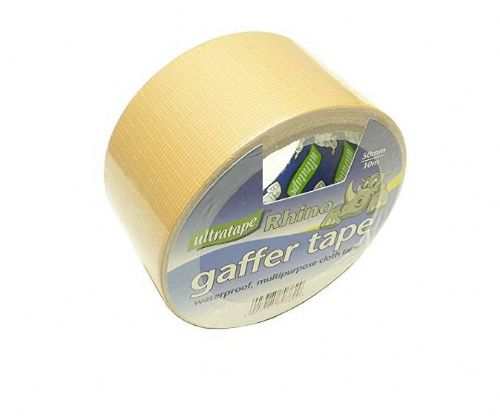 Ultratape Rhino Gaffer Tape 50mm x 10mtr Gold